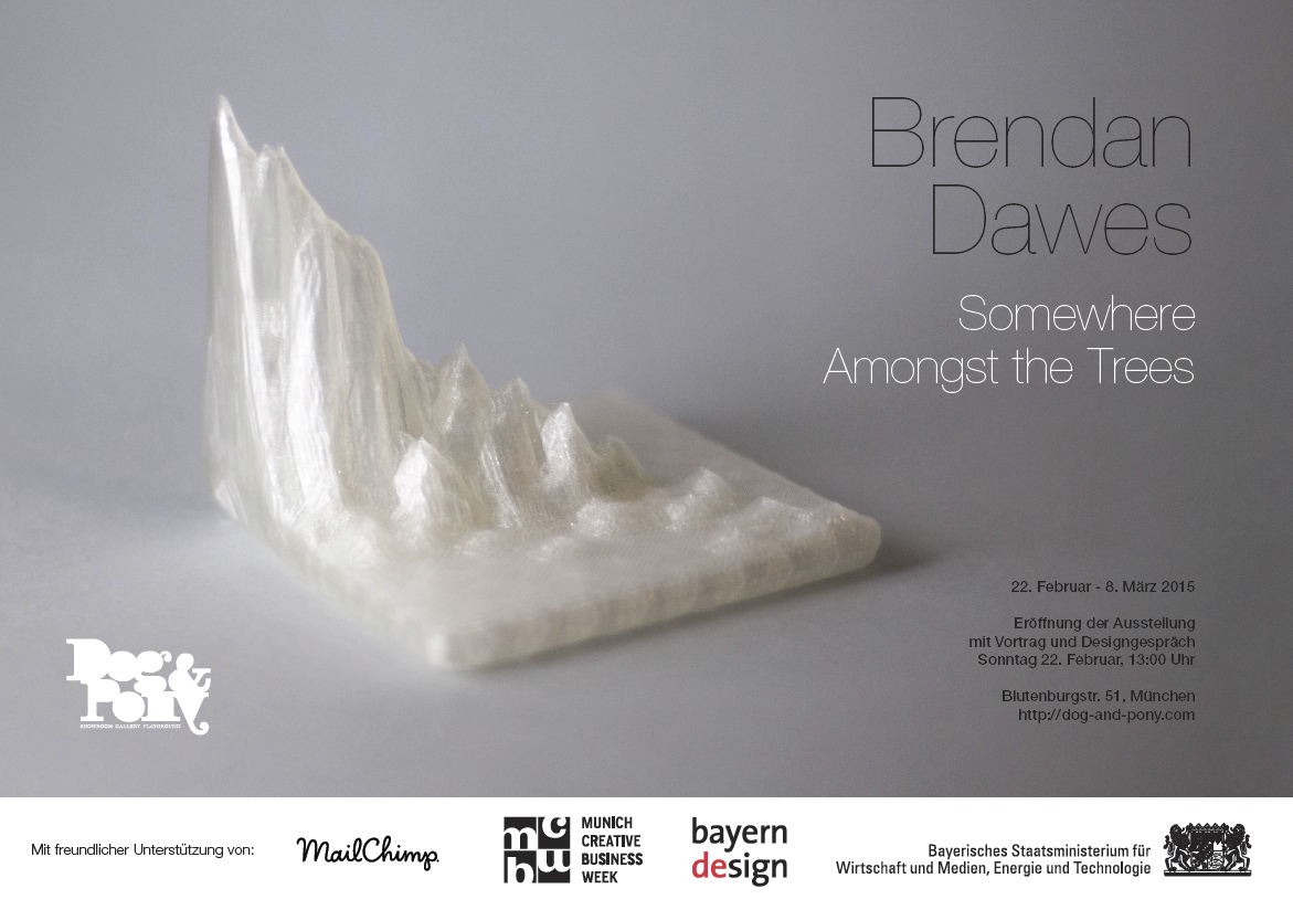 "Brendan Dawes: ""Somwhere Amongst the Trees"""