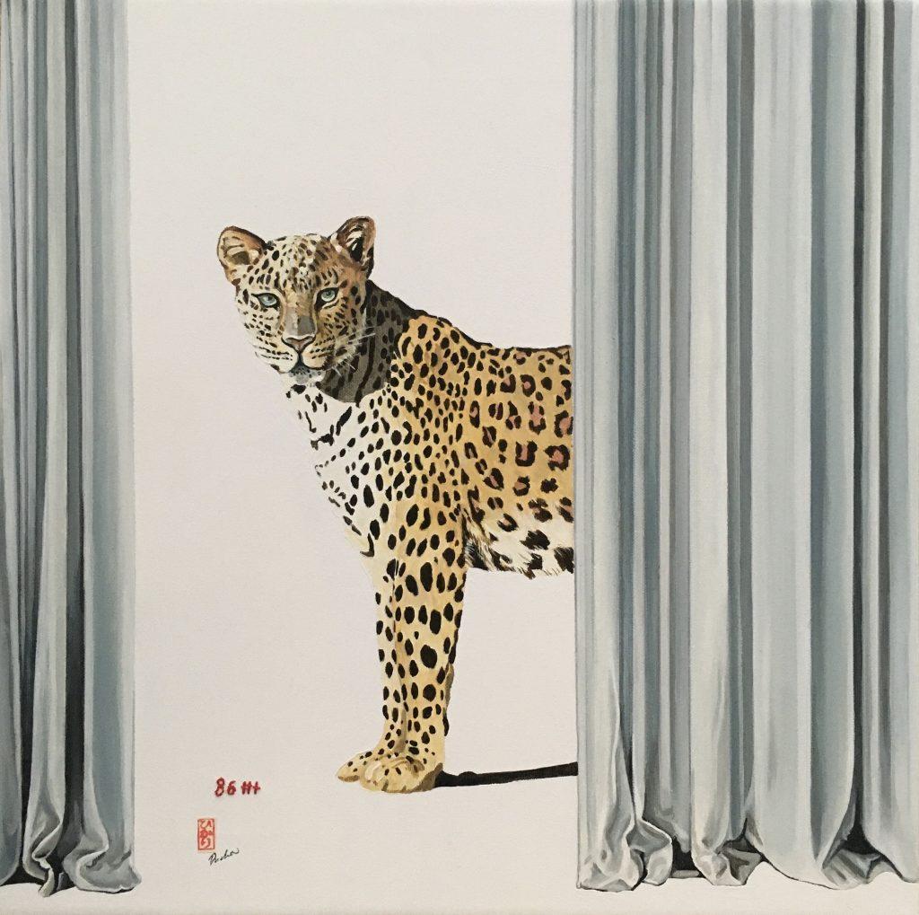 Amur leopard, Brigitte Yushiko Pruchnow